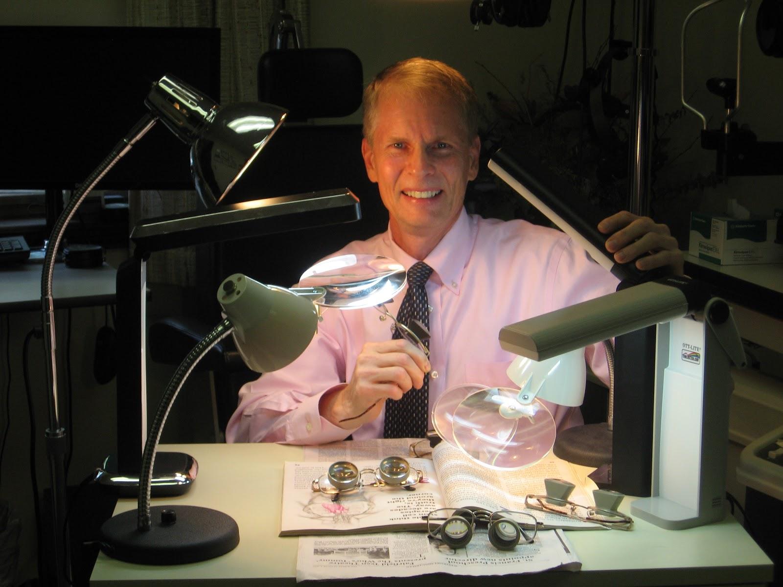 eyeglasses lighting for macular degeneration. Black Bedroom Furniture Sets. Home Design Ideas