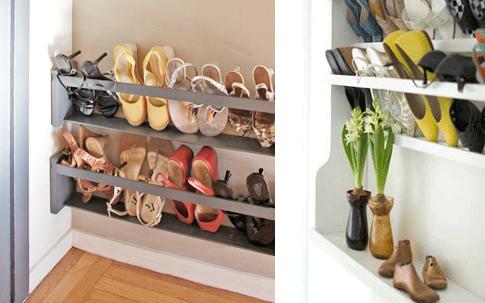Increíbles ideas para almacenar tus zapatos
