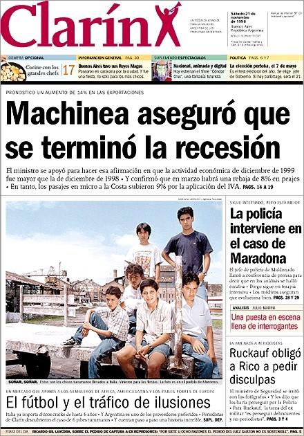 Cuando Clarín apoyaba los ajustes del 2000 y 2001