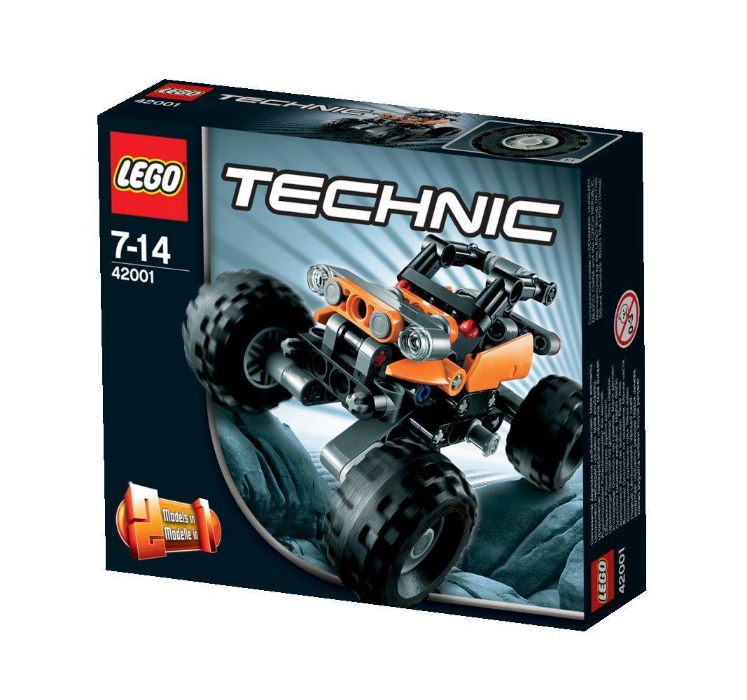 Lego Technic Building Instructions Mini Off Roader 42001