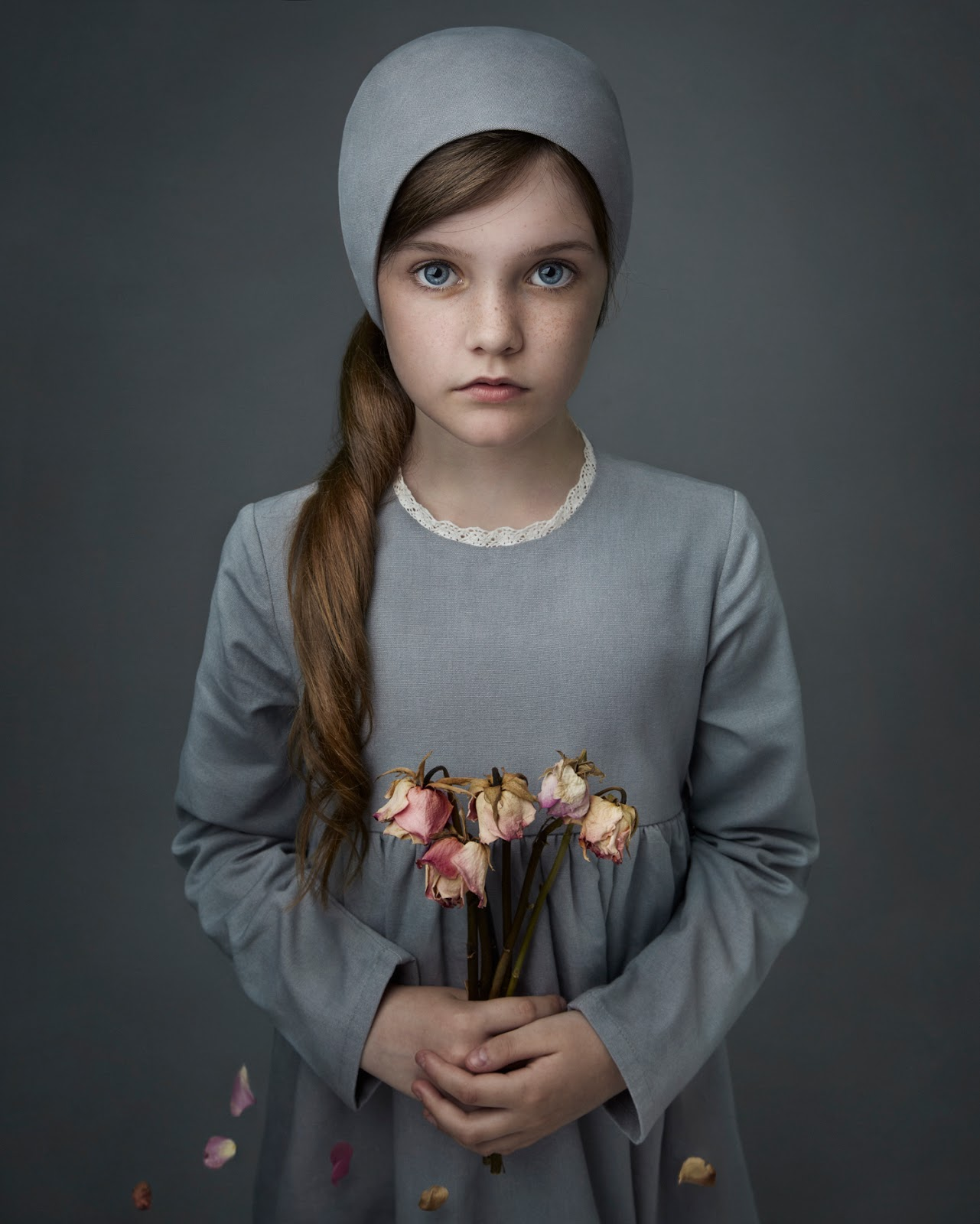All my children photo shoot Cond Nast College of Fashion Design, London