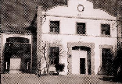 Foto del matadero Municipal de Binéfar de 1997