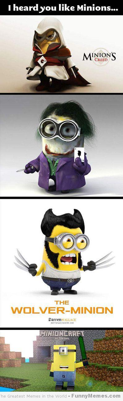 Minions funny meme funny memes whit minions