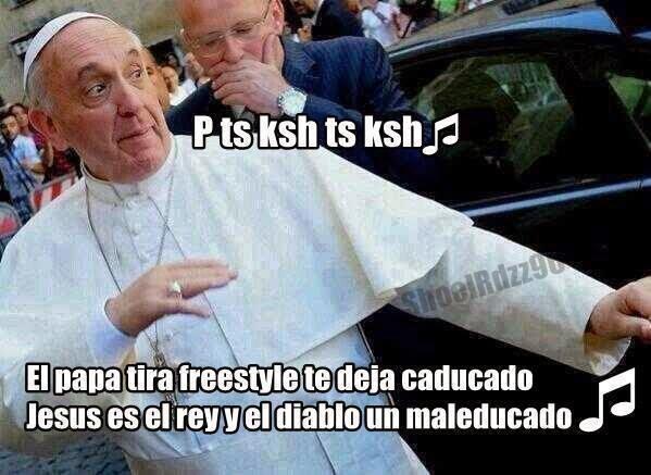 Memes de Humor : El rap del Papa Francisco