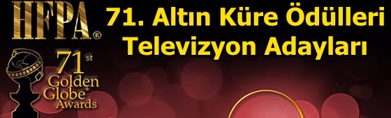 71 altin kure televizyon adaylari