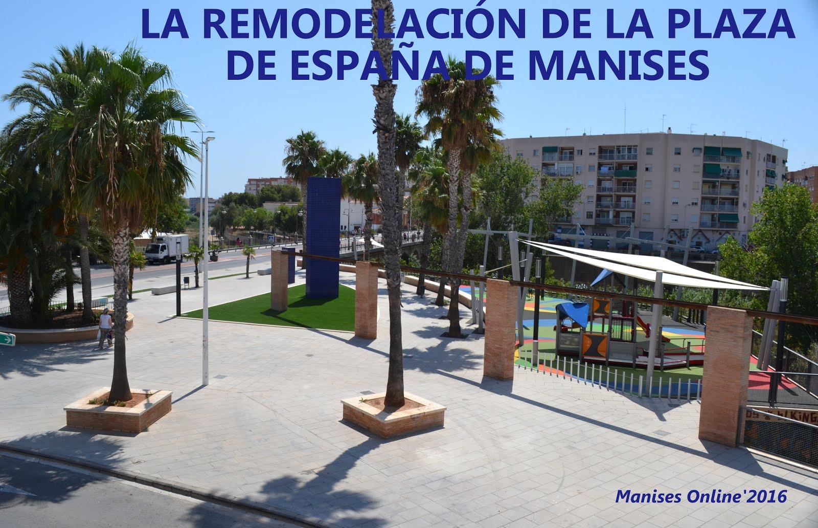 13.10.16 LA PLAÇA D'ESPANYA DE MANISES, ACTUALMENT.