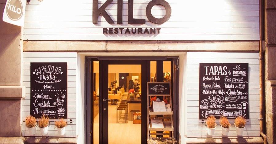 El blog de los muebles de hosteler a el restaurante kilo - Muebles hosteleria barcelona ...