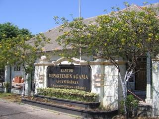 Magang Di kantor Kementrian Agama Surabaya