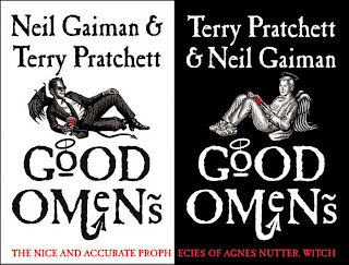 Funny Book for next themed read Good Omens