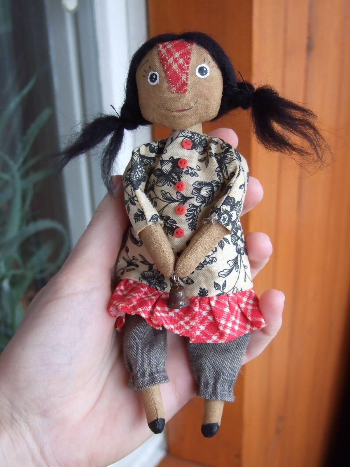 Тряпичная кукла-закрутка Страна Мастеров 24