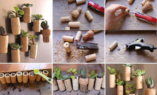 Como Hacer Maceteros con Corchos, Ideas decorativas de Jardineria