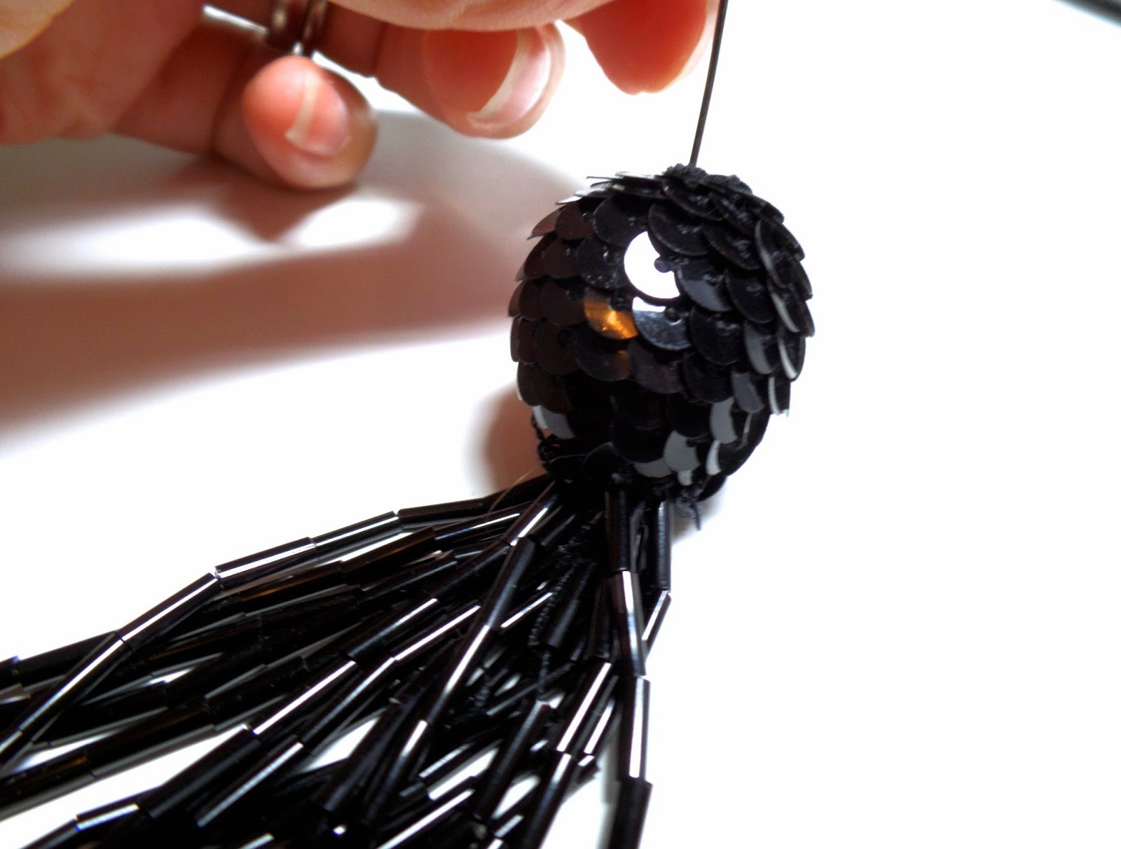 make your own beaded tassel