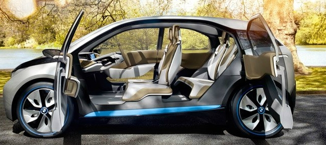 The Bmw Electric City Car Concept