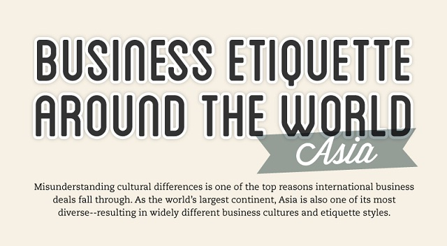 networking etiquette around the world Business customs vary tremendously around the world meanwhile, in israel the typical work week is sunday to thursday so don't expect to conduct business on a friday see the full infographic below to learn more about these cultural differences.