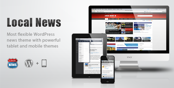 ThemeForest - Local News v1.4 - WP News Theme with Mobile Version