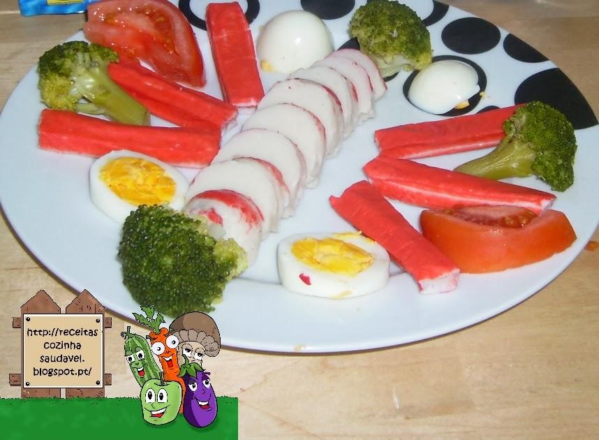 Delícias do Mar com Ovo e Legumes