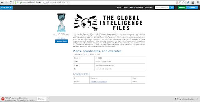 wikileaks josh wieder stratfor emails research