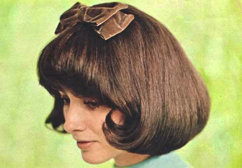Mod and Mint: Vintage Spring Hair Styles from the 1970s - The Coco Chanel Cut