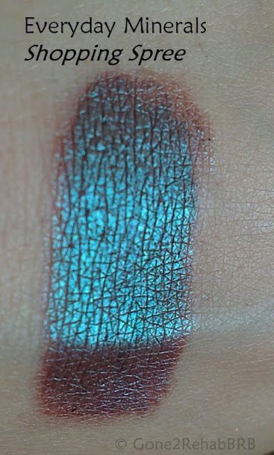 Everyday Minerals eyeshadow in Shopping Spree pictures and swatches, swatch