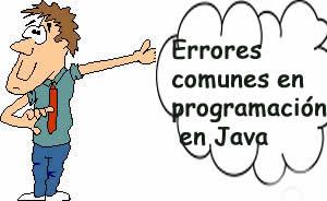 Errores comunes en programación en Java