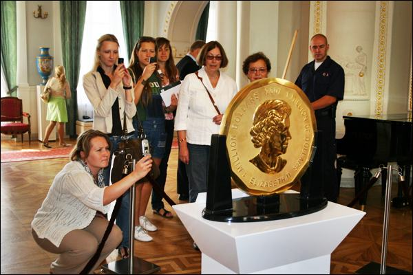 Worlds Biggest Golden Coin - 100 KG