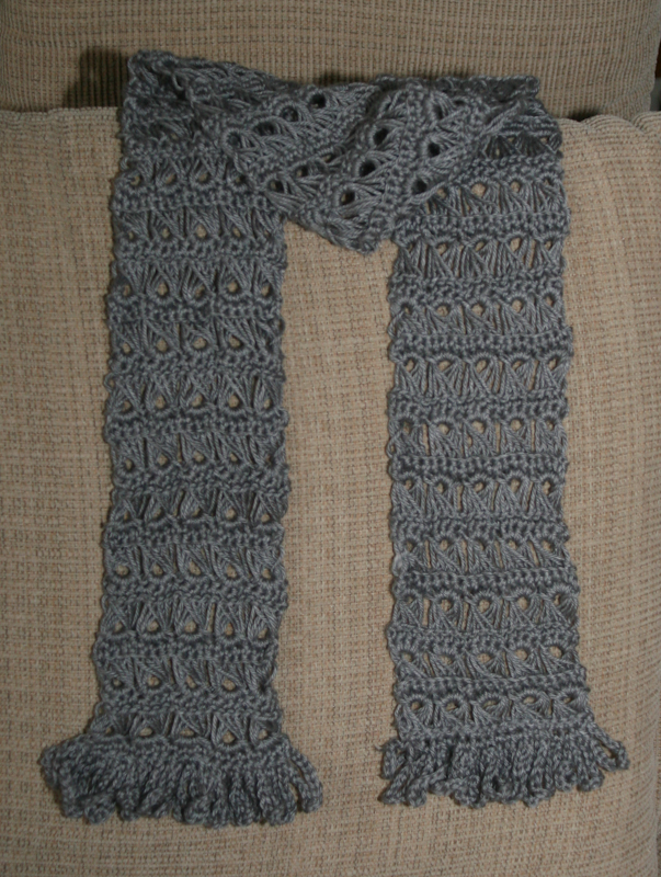 In The Loop Broomstick Lace Scarf