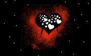Labels: Amor, Corazones Rojos, Fondos de Pantalla, Imagenes 3D fondos amor corazones