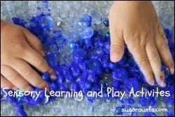 Sensory Learning and Play Activities