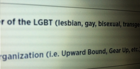 lgbt college application