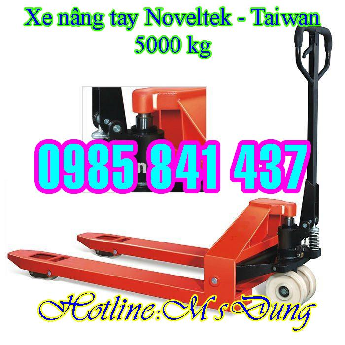 Xe nâng tay 2000 kg - 5000 kg