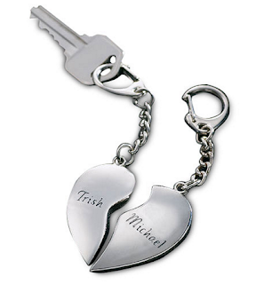 Romantic Valentines Gifts Ideas Key chain