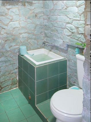 desain kamar mandi kecil murah: Desain kamar mandi sederhana dan murah buat anda yang punya budget
