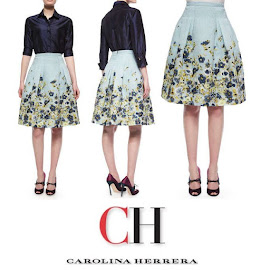 Queen Letizia Style CAROLINA HERRERA Dress