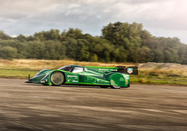 Drayson Racing electric race car, the B12/69 EV