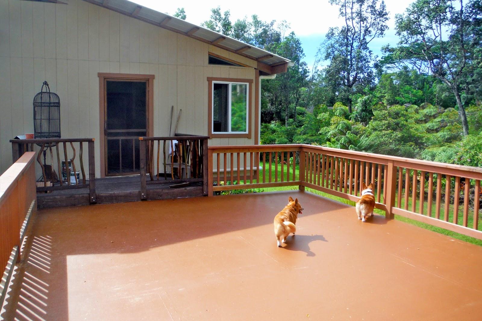 Haysmer hawaii carport deck completed for Carport deck