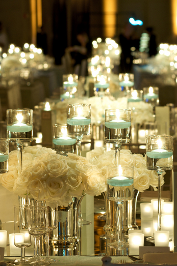 unique ideas candles centrepieces