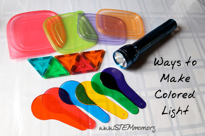 Ways to Make Colored Lights for Experiments: STEMmom.org