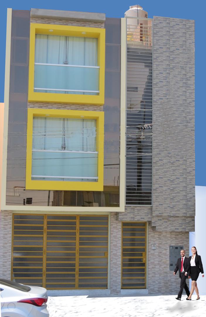Fachadas de casas for Casa minimalista 3 pisos