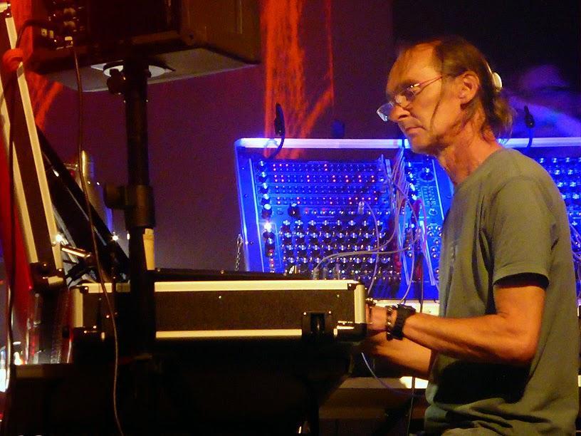 Klaus Hoffmann-Hoock & Udo Hanten @ B-Wave Festival 2014 / photo S. Mazars