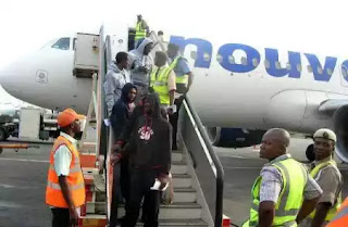 198 Nigerians deported by Saudi Arabia arrive home