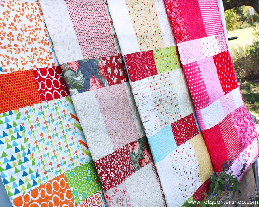 Spun Sugar Quilts: Free Layer Cake pattern?
