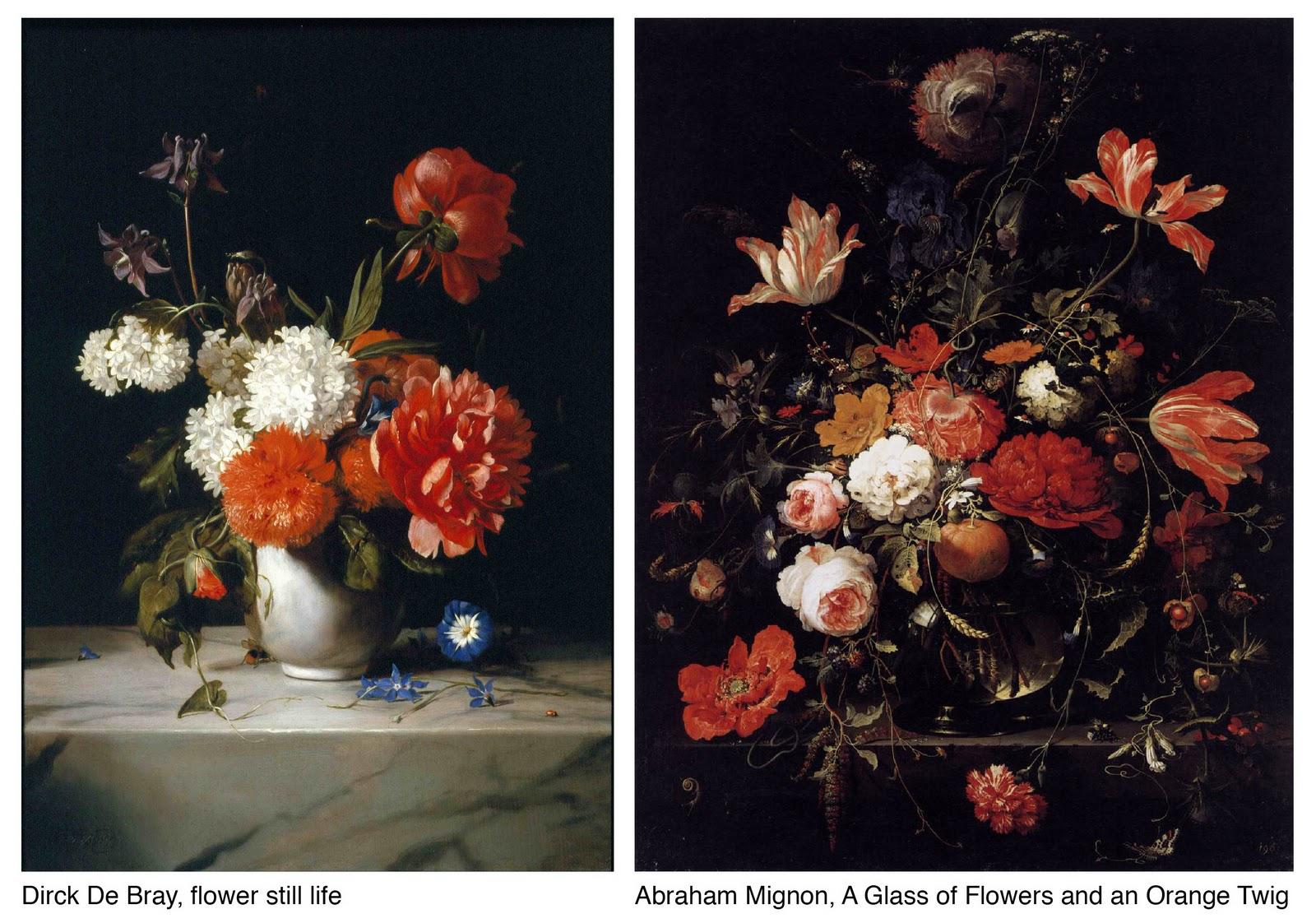 Alive & Kicking: Color Files: Dark background florals