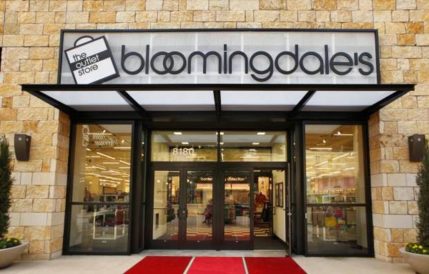 Bloomingdales factory outlet coupons