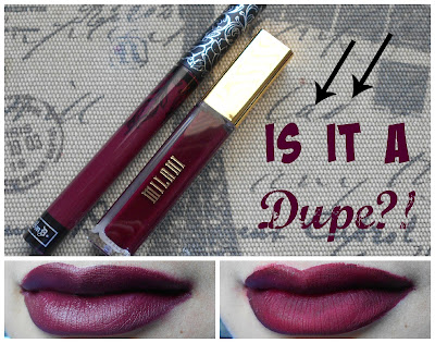 Drugstore Alternative Of Kat Von D Everlasting Liquid Lipstick in Exorcism