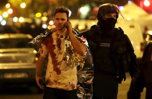 Terror e horror Ataques em Paris esta sexta-feira, 13 de novembro, provocaram mais de 100 mortos