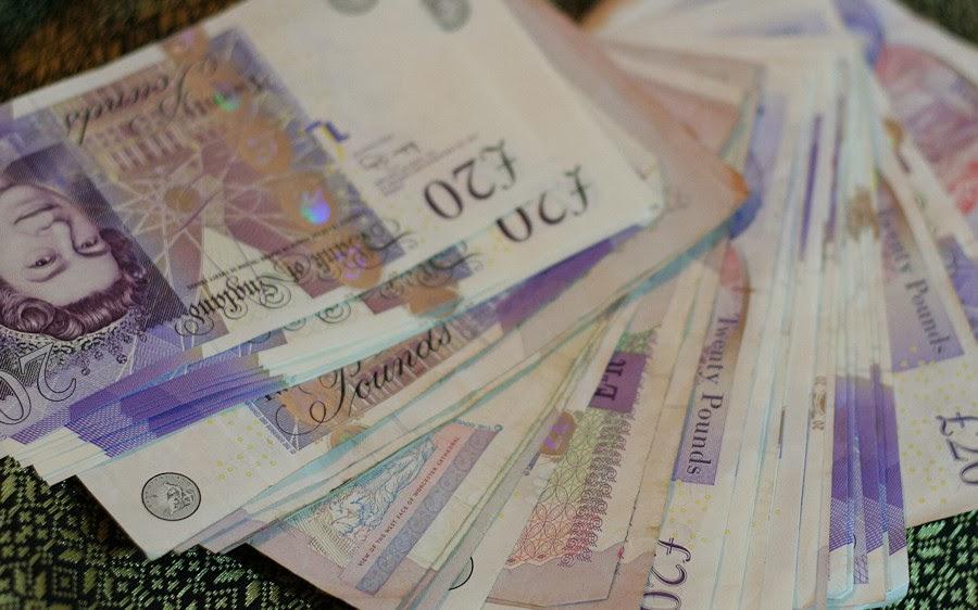 British Pound Twenty Note