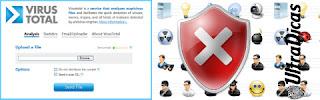 Faça scan com mais 20 antivírus online!
