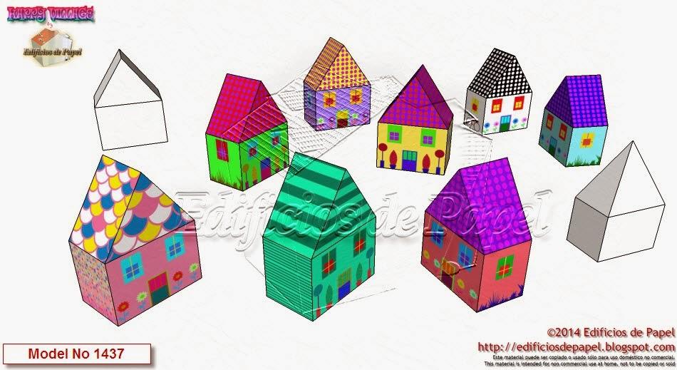 """""""Happy Village"""" by Edificios de Papel - Modelo 1437"""