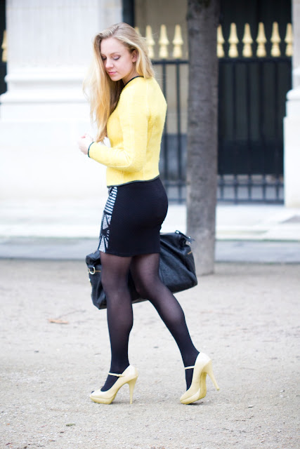 high heel boots skirt tights images
