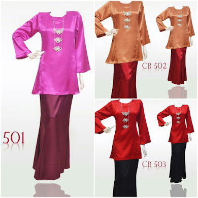 BAJU KURUNG MODEN COLOUR BLOCKING